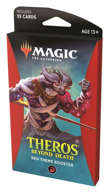 MtG Trading Card Game Theros Beyond Death Red Theme Booster