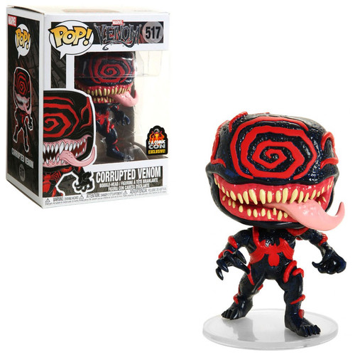 Funko POP! Marvel Corrupted Venom Exclusive Vinyl Figure #517