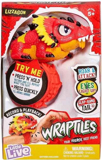 Little Live Pets Wraptiles Lizzagon Figure