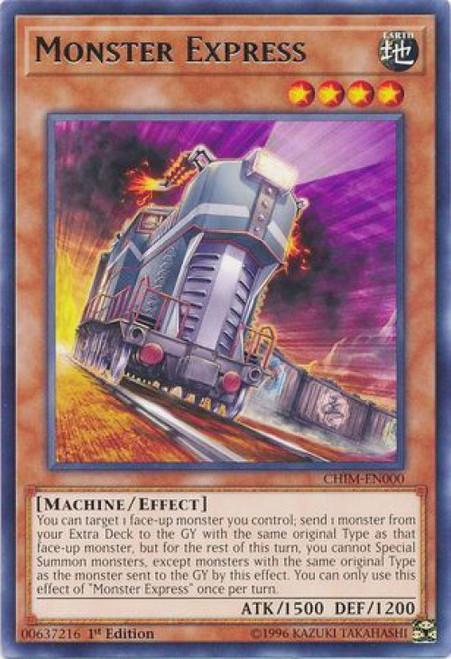 YuGiOh Chaos Impact Rare Monster Express CHIM-EN000