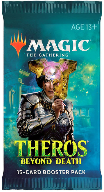 MtG Trading Card Game Theros Beyond Death DRAFT Booster Pack [15 Cards]
