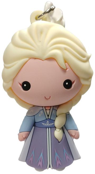 Disney 3D Figural Foam Bag Clip Frozen 2 Elsa Mystery Minifigure [Blue and Purple Gown Loose]