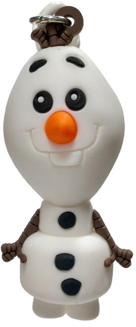 Disney 3D Figural Foam Bag Clip Frozen 2 Olaf Mystery Minifigure [Loose]