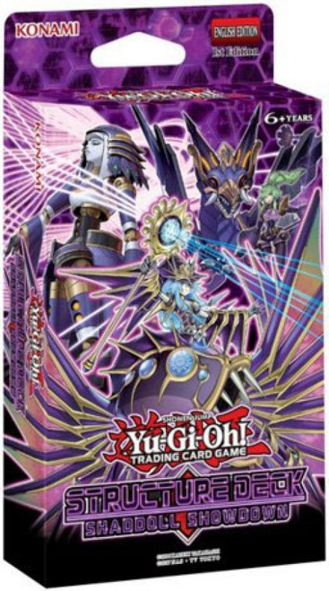 YuGiOh Trading Card Game Shaddoll Showdown Structure Deck