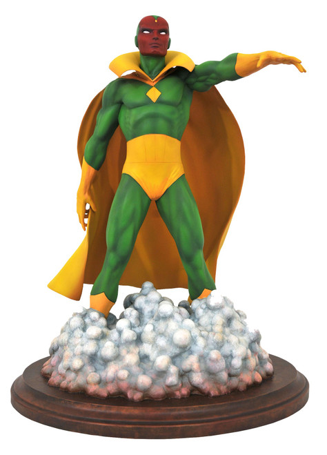 Marvel Premier Collection Vision 11-Inch Resin Statue [Avengers #57 Version]