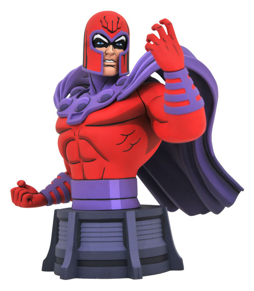 Marvel X-Men The Animated Series Magneto 6-Inch Bust