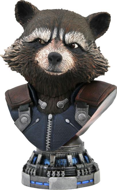 Marvel Avengers Endgame Legendary Comic Rocket Raccoon Half-Scale Bust [1/2 Scale] (Pre-Order ships January)