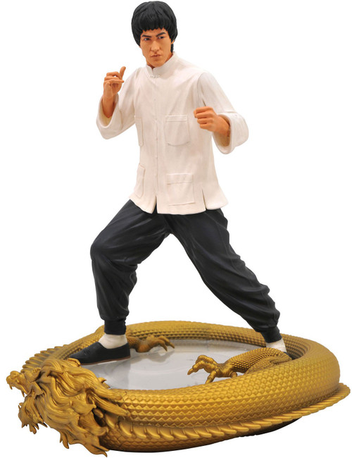 Premier Collection Bruce Lee 11-Inch Statue [80th Birthday Edition]