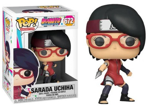 Funko Boruto Naruto Next Generations Pop! Animation Sarada Uchiha Vinyl Figure