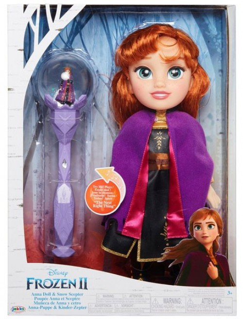 Disney Frozen 2 Anna & Snow Scepter 14-Inch Doll