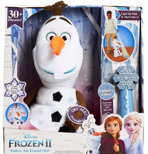Disney Frozen 2 Follow-Me Friend Olaf Exclusive 14-Inch Plush Figure