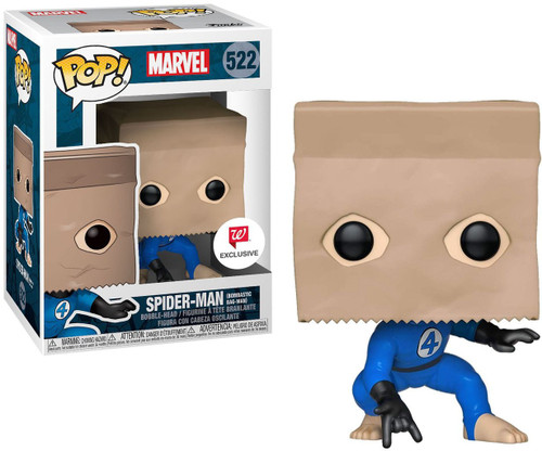 Funko Spider-Man Into the Spider-Verse POP! Marvel Spider-Man Exclusive Vinyl Bobble Head #522 [Bombastic Bag-Man]