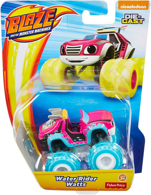 Fisher Price Blaze & the Monster Machines Water Rider Watts Diecast Car