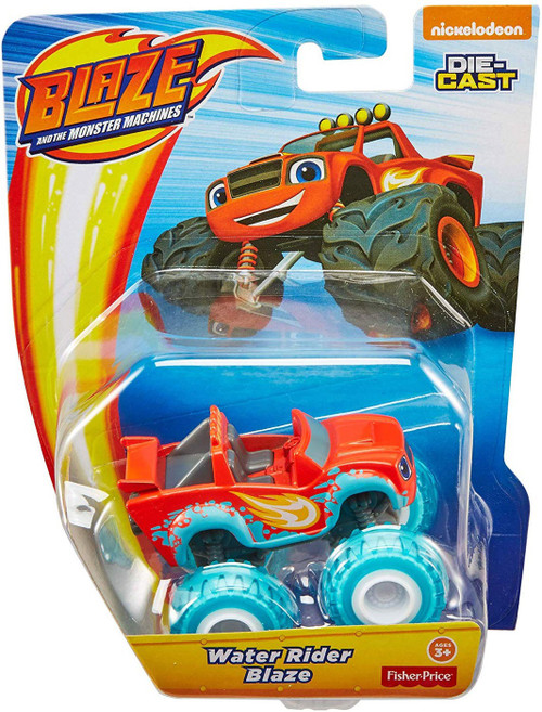 Fisher Price Blaze & the Monster Machines Water Rider Blaze Diecast Car