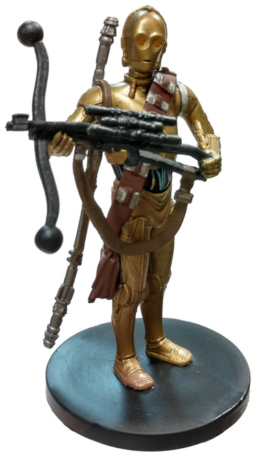 Disney Star Wars The Rise of Skywalker The Resistance C-3PO 4-Inch PVC Figure [Loose]