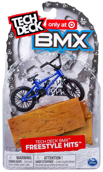 Tech Deck BMX Freestyle Hits CULT Exclusive Mini Bike [Blue]