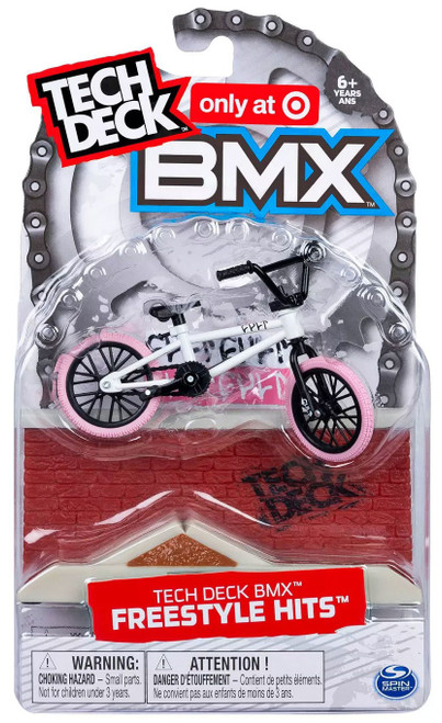 Tech Deck BMX Freestyle Hits CULT Exclusive Mini Bike [White]
