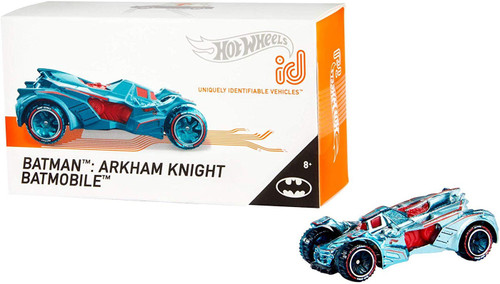 Hot Wheels ID Batman Arkham Knight Batmobile Diecast Car