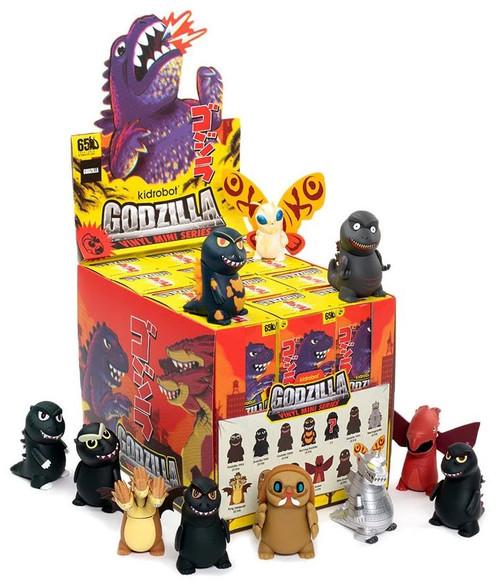 King of the Monsters Vinyl Mini Figure Godzilla 3-Inch Mystery Box [24 Packs]