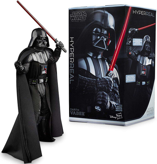 Star Wars A New Hope Black Series Darth Vader Action Figure [Hyperreal]