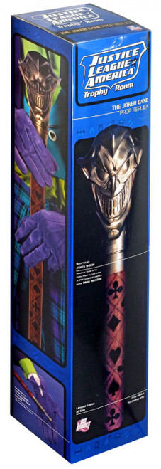 DC Justice League of America Trophy Room The Joker Cane Prop Replica
