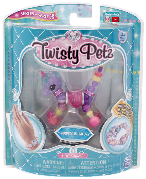 Twisty Petz Series 3 Swoonicorn Unicorn Bracelet