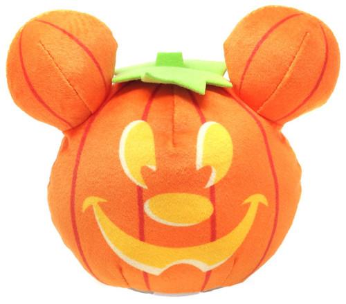 Disney 2019 Halloween Light-Up Mickey Pumpkin 4-Inch Plush