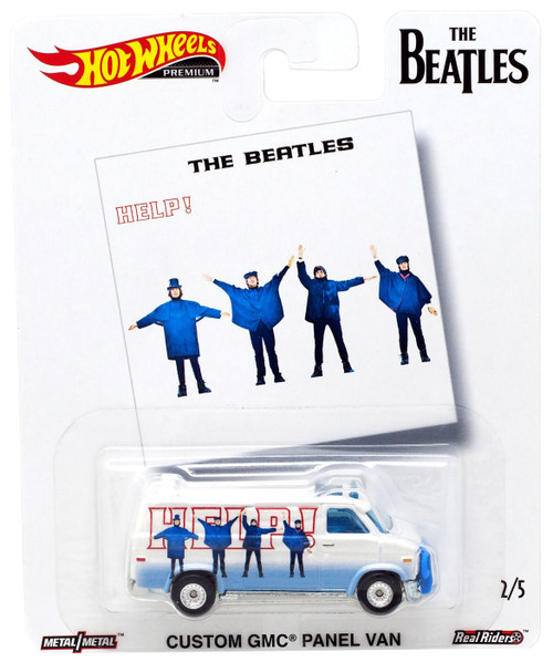 Hot Wheels The Beatles Help! Die-Cast Car #2/5 [Custom GMC Panel Van]