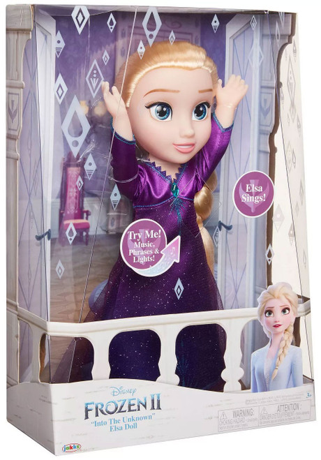 "Disney Frozen 2 ""Into The Unknown"" Elsa 13-Inch Doll"