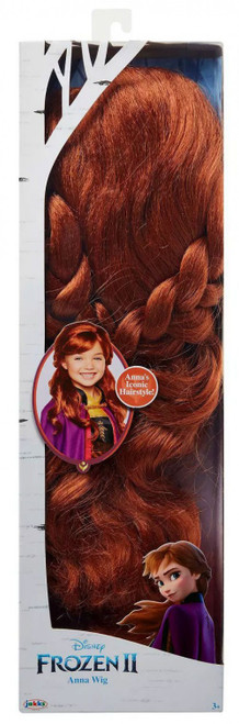 Disney Frozen 2 Anna Wig Dress Up Toy