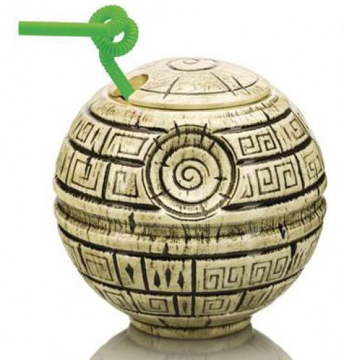Star Wars A New Hope Geeki Tiki Death Star 7-Inch Tiki Glass