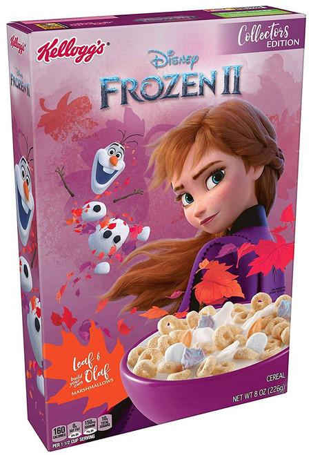 Disney Frozen 2 Frozen 2 Breakfast Cereal [Collectors Edition]