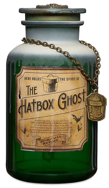 Disney Haunted Mansion Host a Ghost The Hatbox Ghost Exclusive Spirit Jar