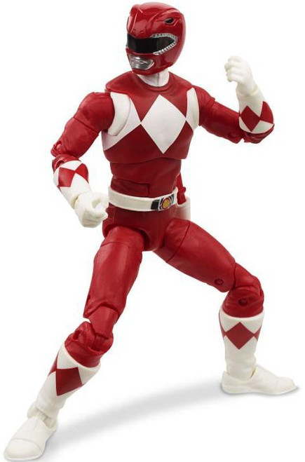 Power Rangers Mighty Morphin Lightning Collection Red Ranger Action Figure [Mighty Morphin]