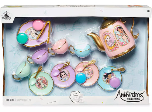 Disney Princess Animators' Collection Tea Set Exclusive Playset