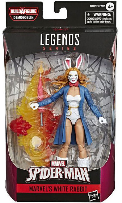 Marvel Legends Demogoblin Series White Rabbit Action Figure