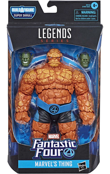 Fantastic Four Marvel Legends Super Skrull Series The Thing Action Figure