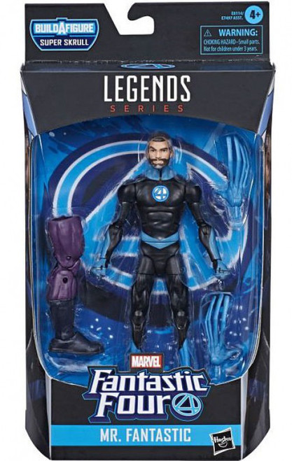 Fantastic Four Marvel Legends Super Skrull Series Mr. Fantastic Action Figure