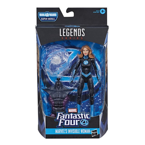 Fantastic Four Marvel Legends Super Skrull Series Invisible Woman Action Figure