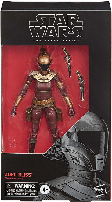 Star Wars The Rise of Skywalker Black Series Zorii Bliss Action Figure