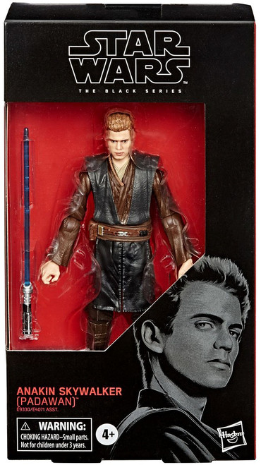 Star Wars Attack of the Clones Black Series Wave 4 Anakin Skywalker Action Figure [Padawan]