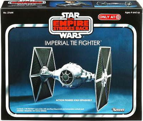 Star Wars The Empire Strikes Back Vintage Collection Vehicles Imperial Tie Fighter Exclusive Action Figure Vehicle