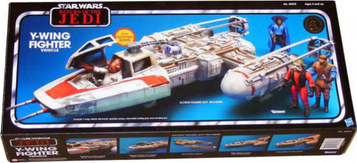 Star Wars Return of the Jedi Vintage Collection Vehicles Y-Wing Fighter Exclusive Action Figure Vehicle