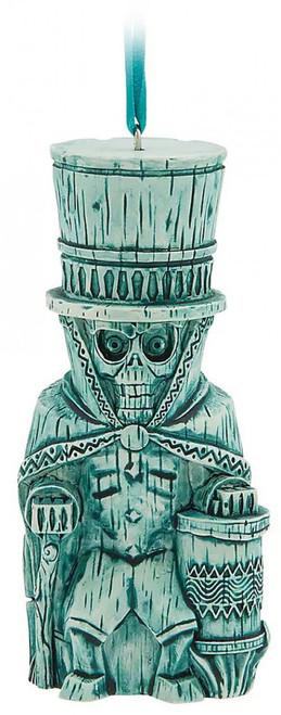 Disney Haunted Mansion Trader Sam's Enchanted Tiki Bar Grog Grotto Hatbox Ghost Exclusive Ornament [Green]
