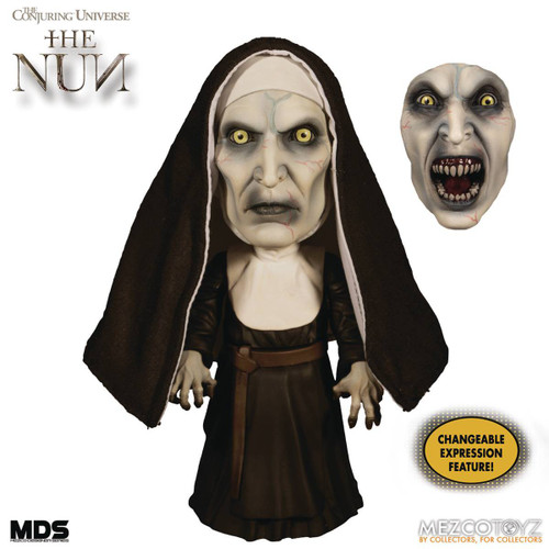 The Conjuring Universe Designer Series The Nun Mega Scale Action Figure