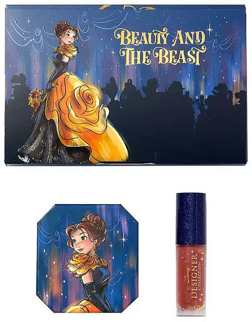 Disney Designer Collection Midnight Masquerade ColourPop Belle Bundle Exclusive Makeup Set
