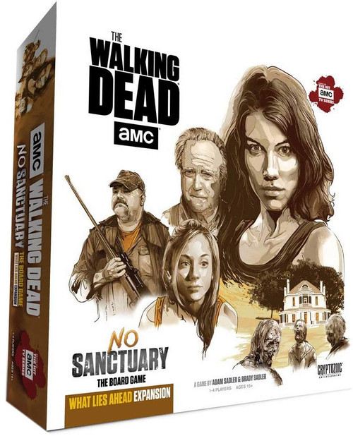 The Walking Dead AMC TV No Sanctuary What Lies Ahead Board Game Expansion