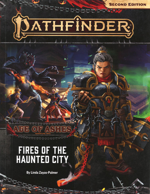 Pathfinder 2st Edition Age of Ashes Fires of the Haunted City Roleplaying Book