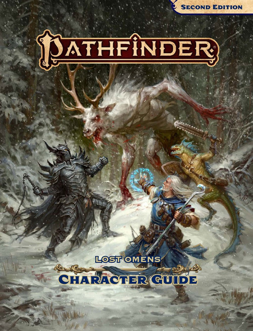 Pathfinder 2st Edition Lost Omens Character Guide Roleplaying Book