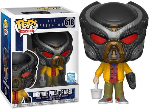 Funko The Predator 2018 Movie POP! Movies Rory with Predator Mask Exclusive Vinyl Figure #618
